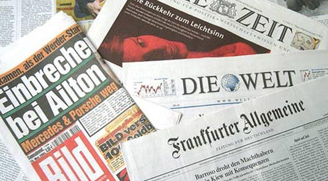 Alman Basınından Erdoğan'a tepki