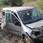 Hastane yolunda feci kaza