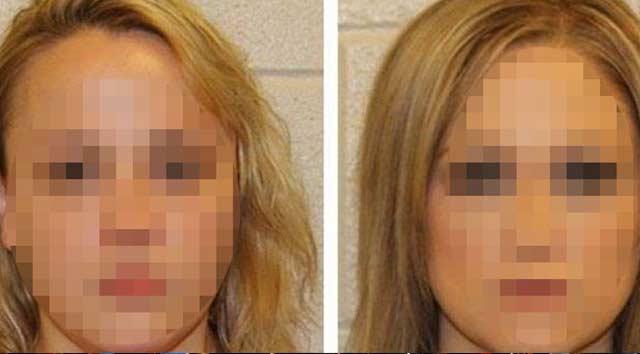 İki kadın öğretmen grup seks yapmaktan tutuklandı