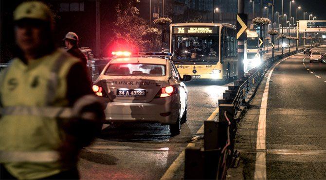 Şişli'de trafik kazası