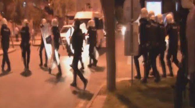 Şanlıurfa'da eylemcilere polis müdahalesi