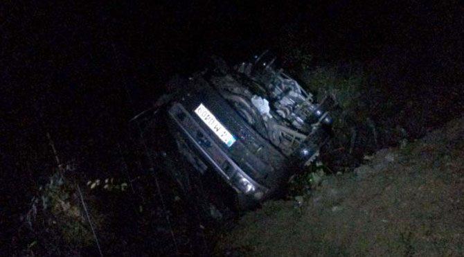 Bolu'da nişan dönüşü kaza: 17 yaralı