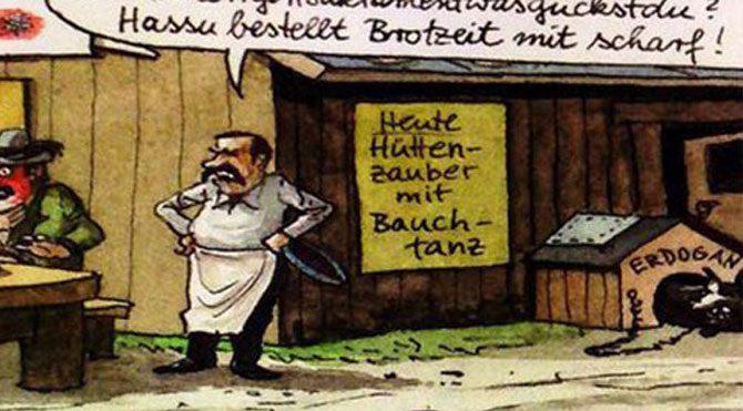 Almanlar çizgiyi aştı