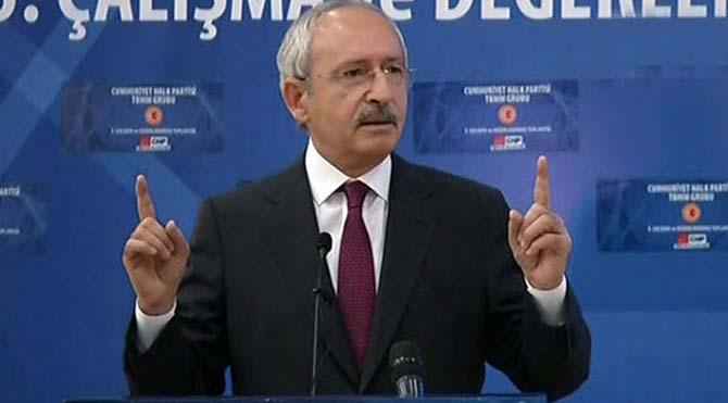 Kılıçdaroğlu, Faruk Çelik'in istifasını istedi