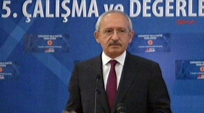 Kılıçdaroğlu: Ben hamlemi yaptım!