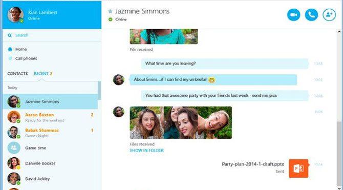Skype yenilendi