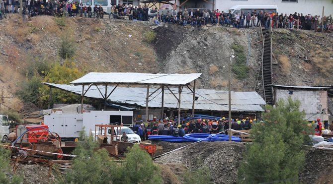 Ermenek maden faciasında 6'ıncı gün