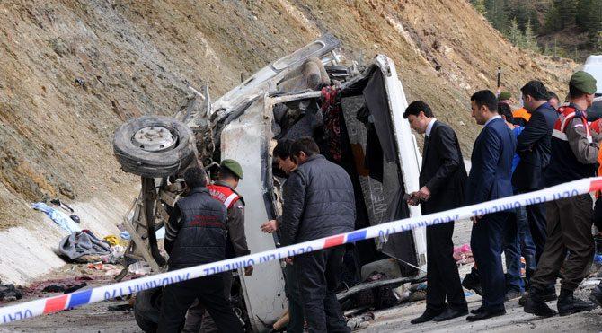 Isparta'daki trafik katliamının ayrıntıları ortaya çıktı