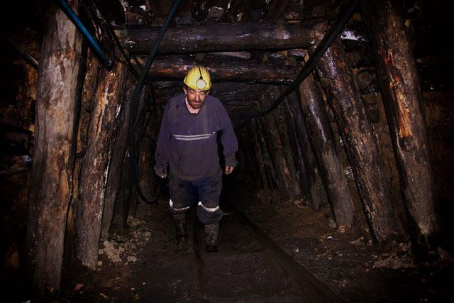 Maden ocağındaki son fotoğraf!