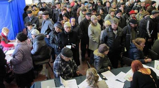 Ukrayna'da ayrılıkçılar sandığa gitti