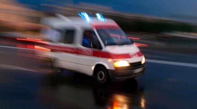 Minibüsün çarptığı yaya hayatını kaybetti