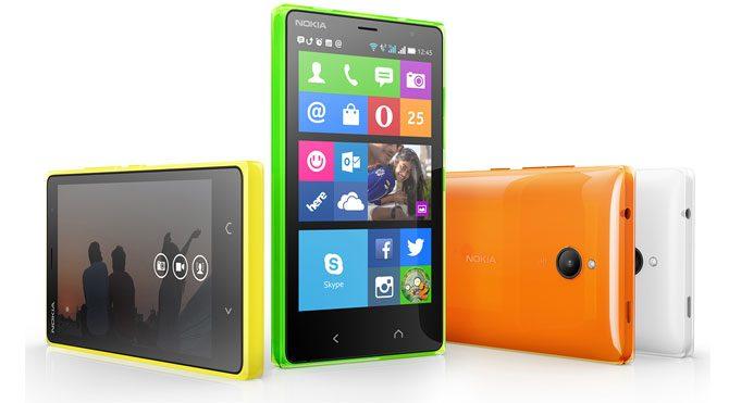 Android'li Microsoft Lumia yolda