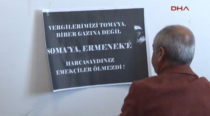 CHP'li vekilden protesto