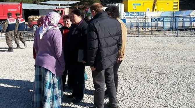 CHP'li kadınlar Ermenek'e gitti