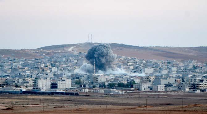 Kobani'de 4 köy IŞİD'in elinden alındı