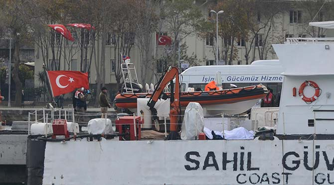 Sahil güvenlik faciada ölü sayısını açıkladı