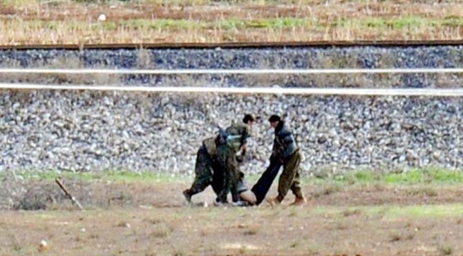 IŞİD, YPG'lileri böyle vurdu