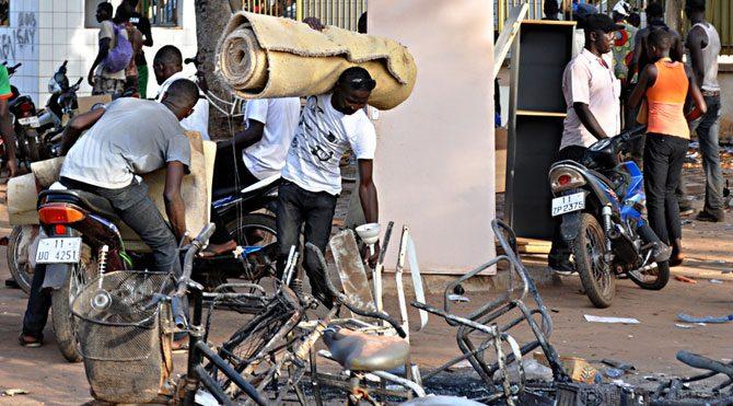 Burkina Faso'daki askeri darbeye sert tepki!