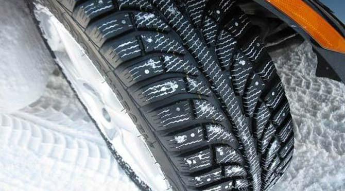 Kış lastikleri fren mesafesini 8 metre kısaltıyor