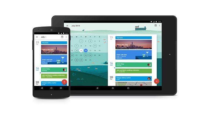 Google Takvim uygulaması Android'e geliyor!