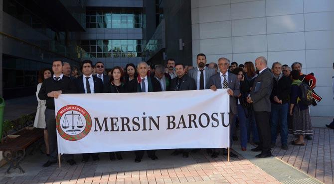 Sanık polisin ifadesi Mersin'de alındı