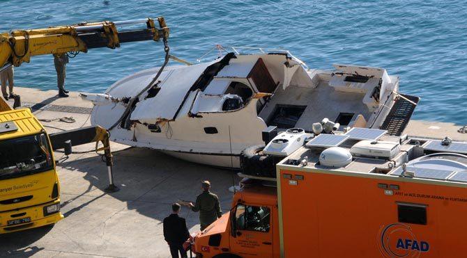 İşte ölüm teknesi