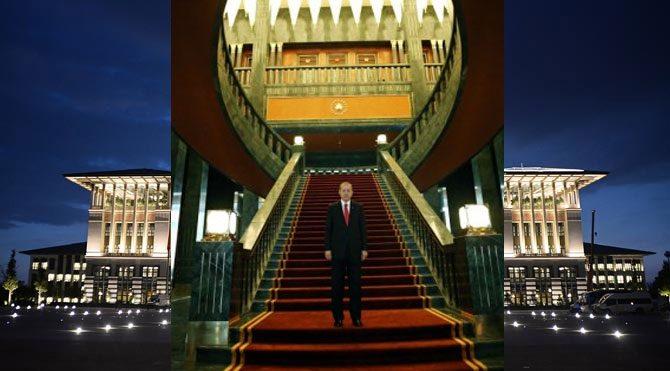 Yeni sarayın sadece merdiveni 4 milyon lira!