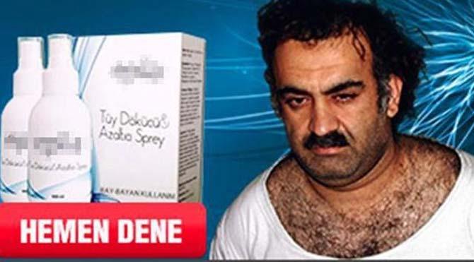 El Kaide lideri reklam yüzü oldu