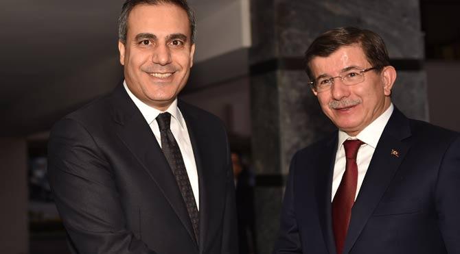 Davutoğlu MİT'ten brifing aldı