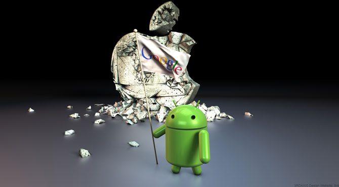 Android zirveye ulaştı!
