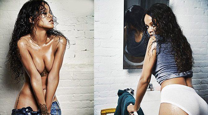 Rihanna mutfakta bunları yapıyor