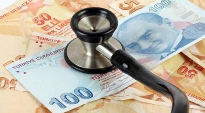 Sağlık harcamaları arttı