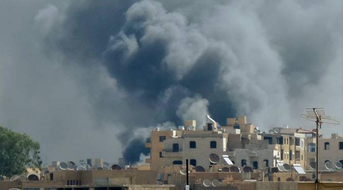 Uçaklar Akçakale'nin komşusunu bombaladı
