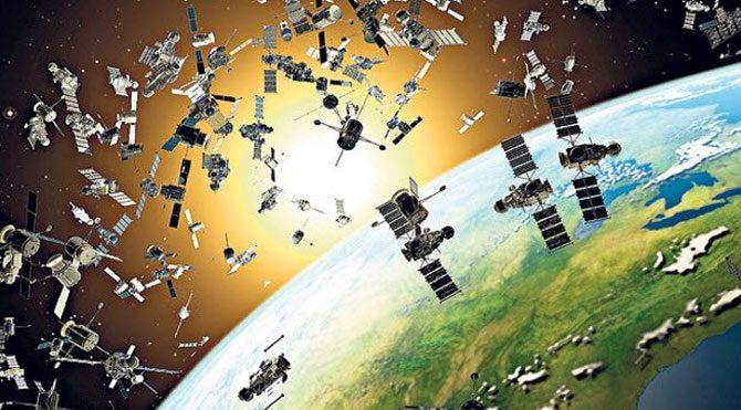 Uzay çöpleri lazerle temizlenecek