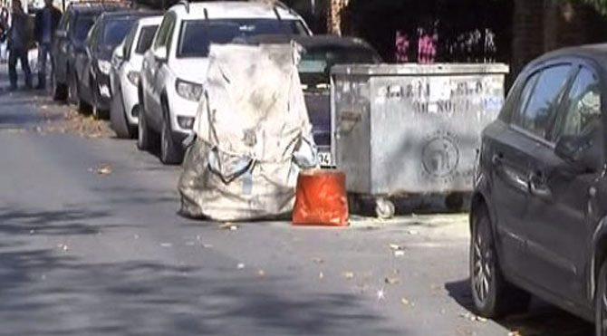 Bakırköy'de çöp konteynerinde patlama