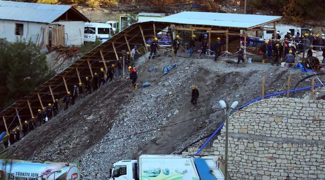 Maden faciasında 10'uncu gün