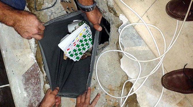 Güven Partisi'ne 46'ncı kumar baskını