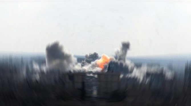 IŞİD hedefleri vuruldu