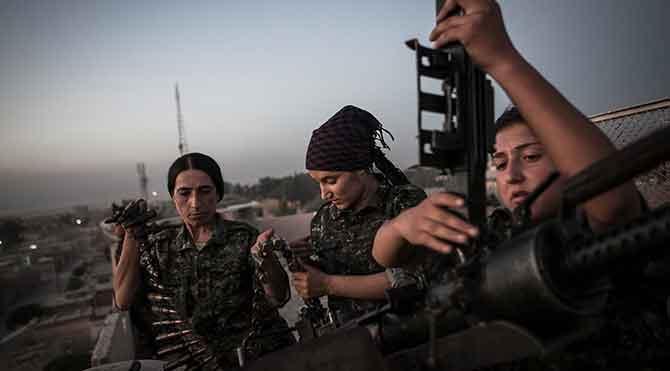 Kadın peşmergeleri IŞİD militanlarıyla zorla evlendirecekler