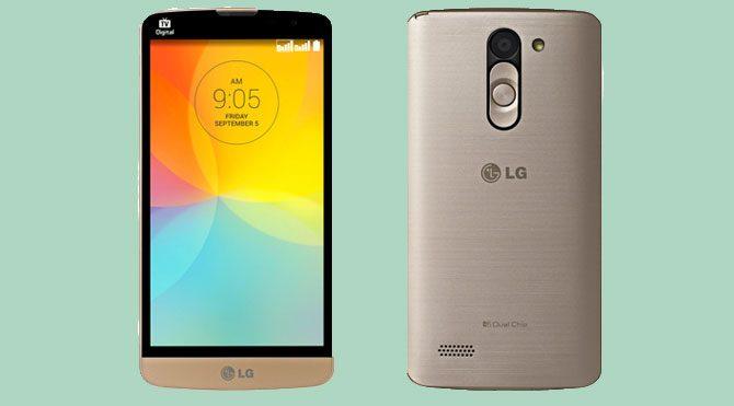 LG'den iki yeni telefon