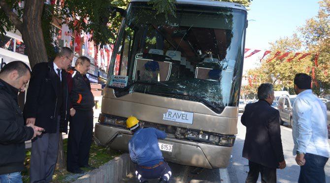 Çocuklara korsan otobüs