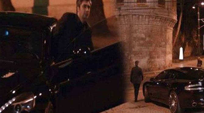 Bond'un arabası Polat'a yaramadı!