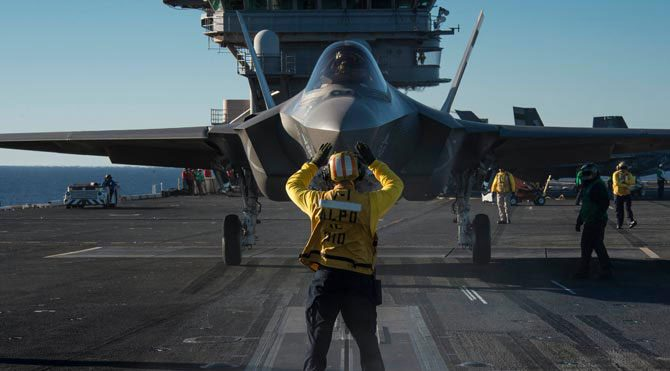 F-35 Şimşek II uçuşa hazır