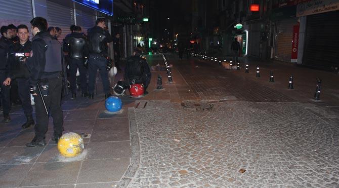 Kadıköy'de TOMA'lı müdahale!