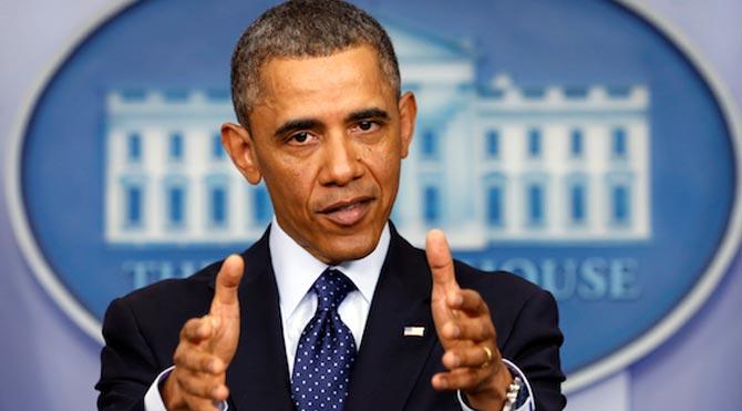 Obama Irak için orduya yetki verdi!