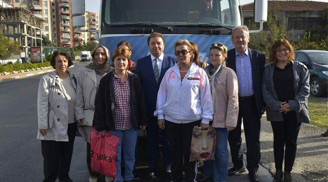 CHP'nin Türkmen TIR'ı yola çıktı