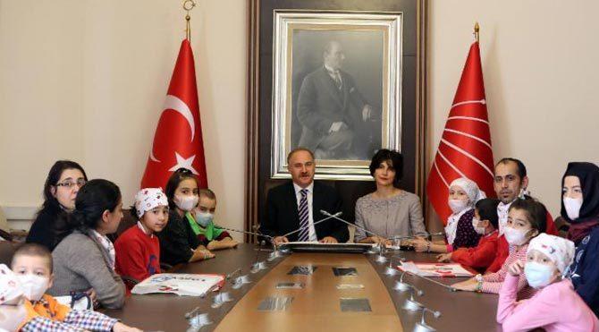 Lösemili çocuklar CHP Grubu'nda