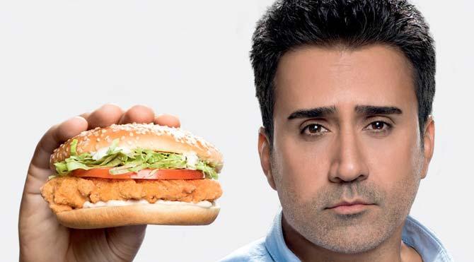 Benim burgerim olmadı amca…