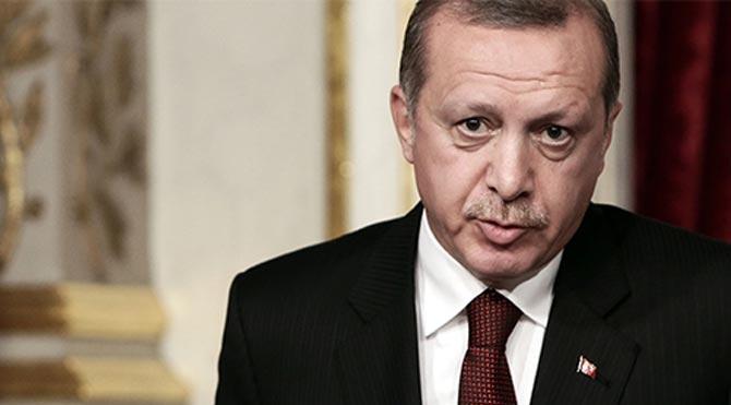 Erdoğan'dan gazetecilere çok sert tepki