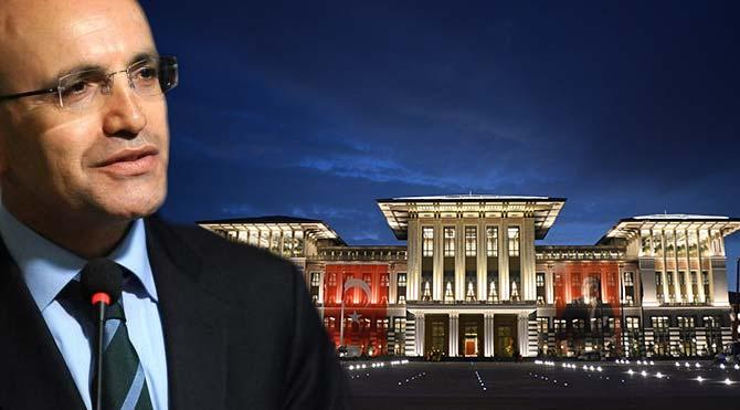 Mehmet Şimşek 'Ak Saray'ın maliyetini açıklayınca…